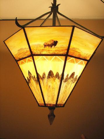 Rustic Lighting Lodge Decor